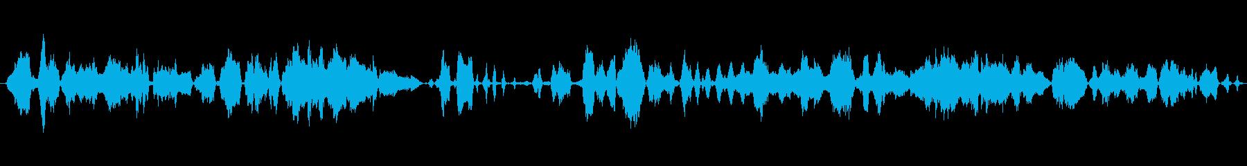 群集 群衆パニックワラ01の再生済みの波形