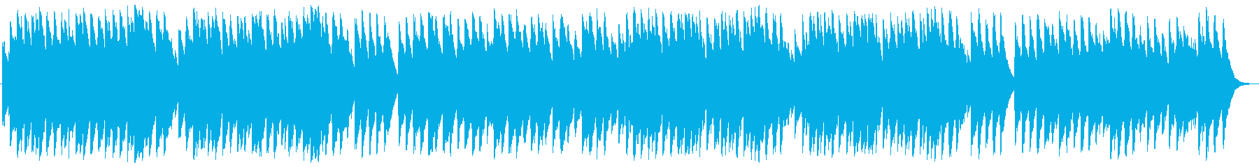 おめでとうクリスマス オルゴールの再生済みの波形