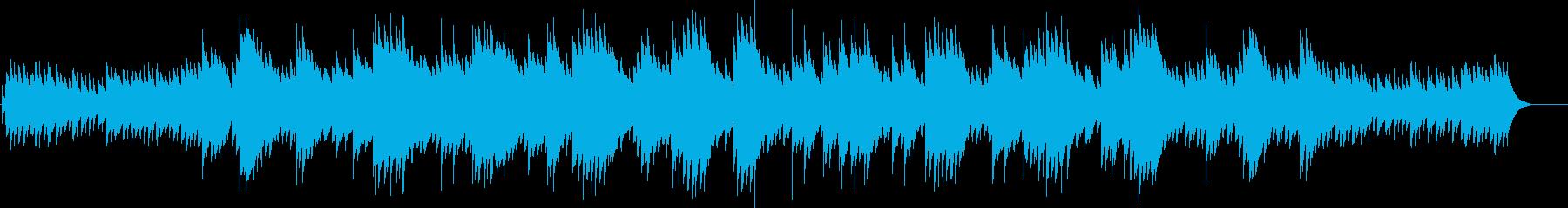 シューベルトのアヴェマリア(オルゴール)の再生済みの波形