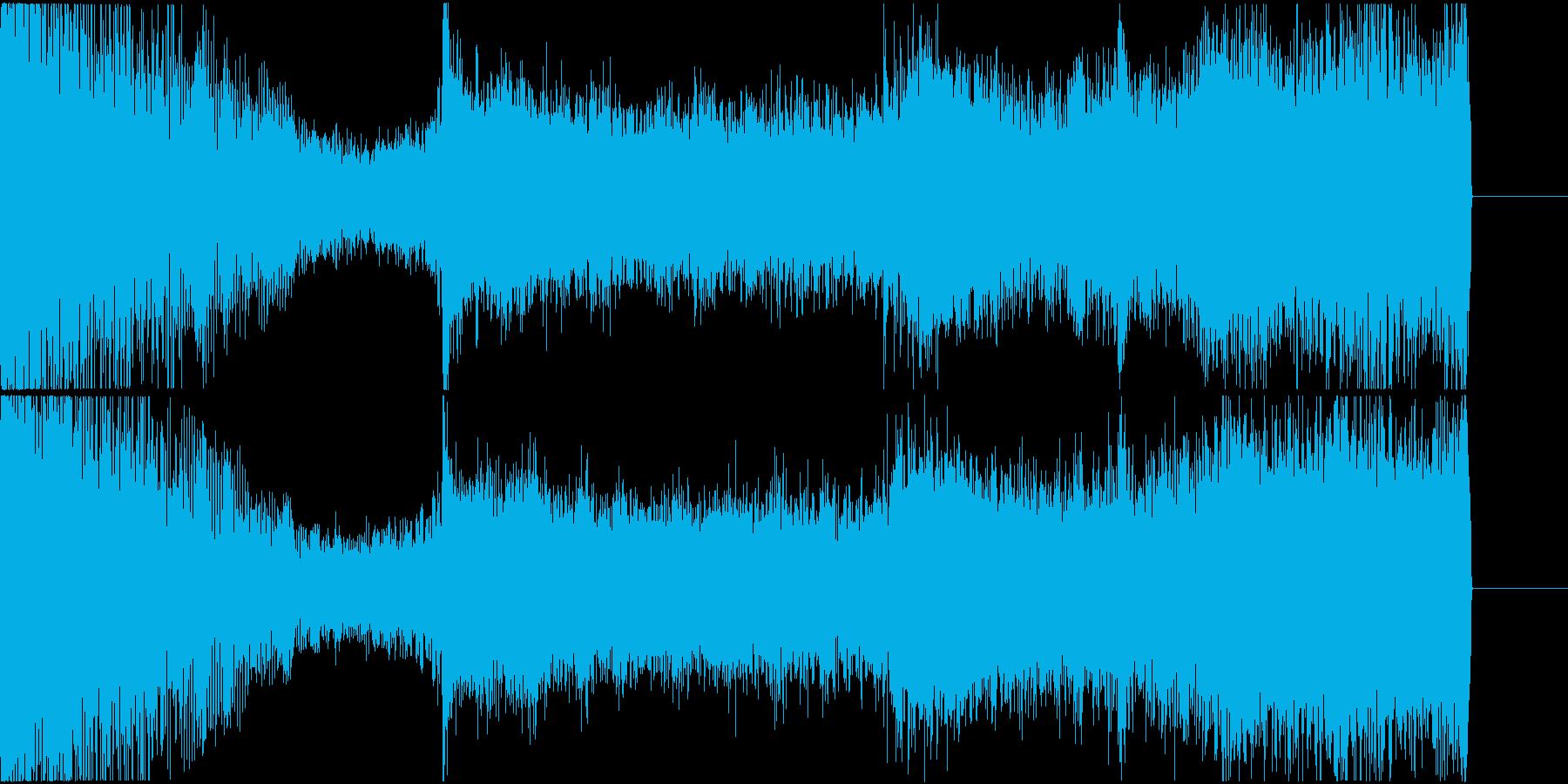 ホラー 緊張 緊迫 迫る 恐怖 04の再生済みの波形
