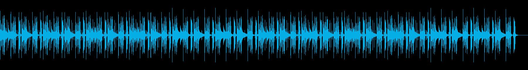 海外洋画風・チルアウト・おしゃれの再生済みの波形