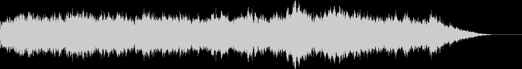 柔らかで優しいRPG系オーケストラBGMの未再生の波形