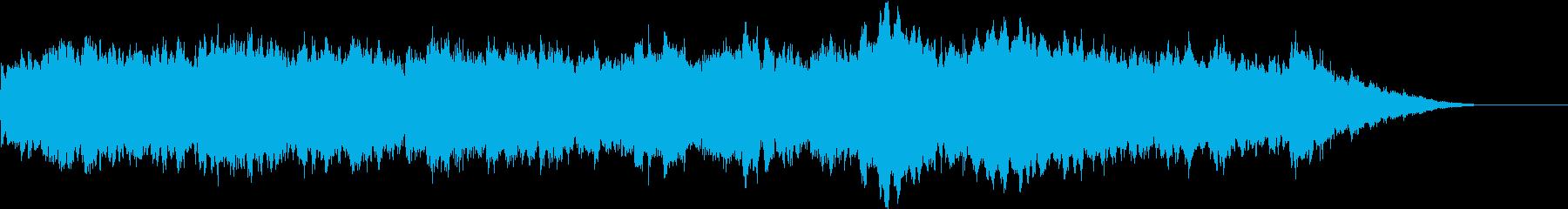 柔らかで優しいRPG系オーケストラBGMの再生済みの波形