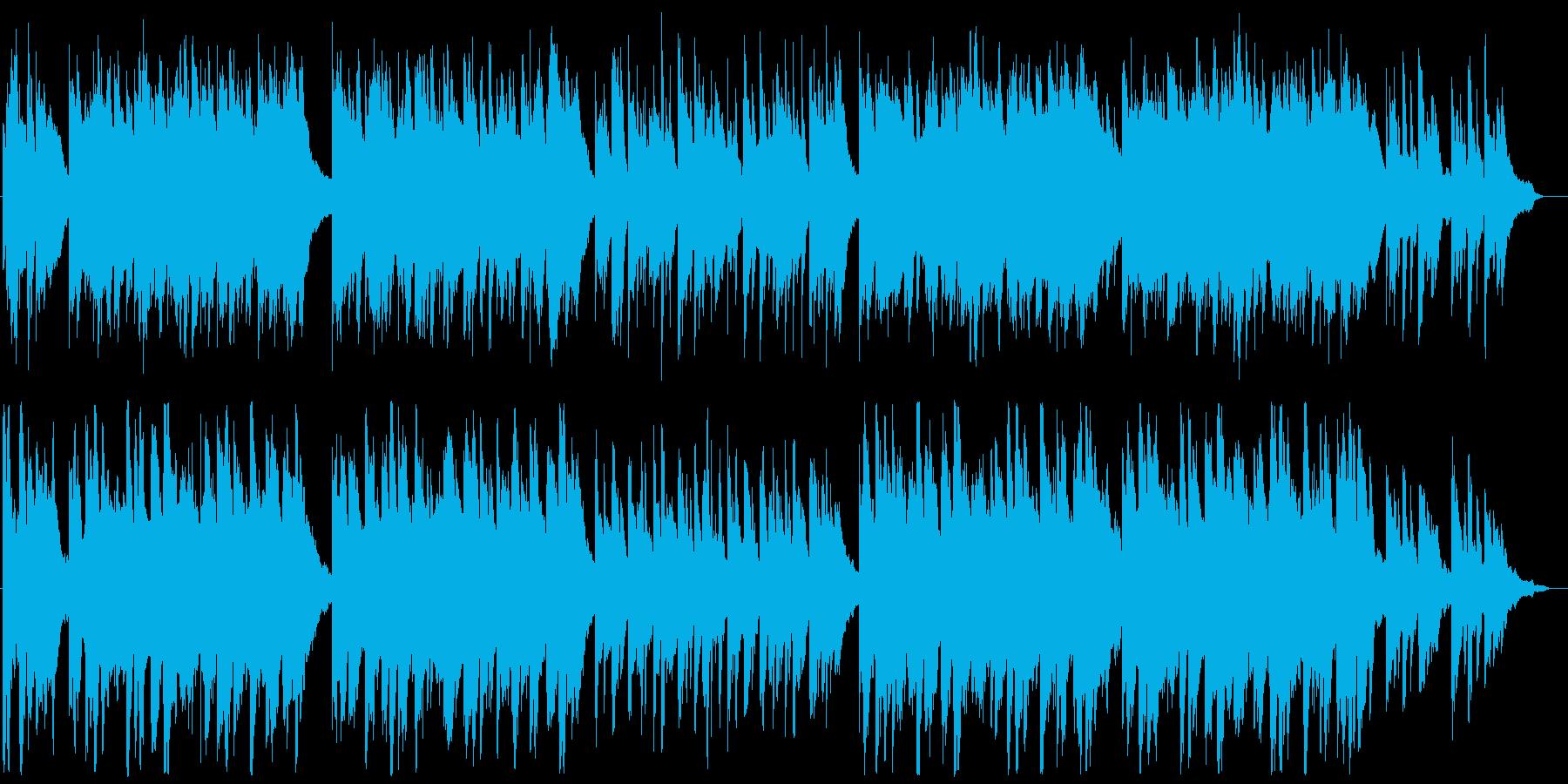 誓いの優しいピアノ曲の再生済みの波形