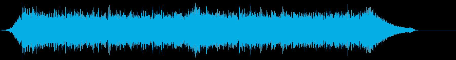 企業VP映像、120オーケストラ、爽快cの再生済みの波形