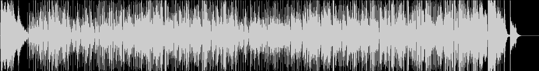 ギャグ向きのコミカルなジプシー・スイングの未再生の波形