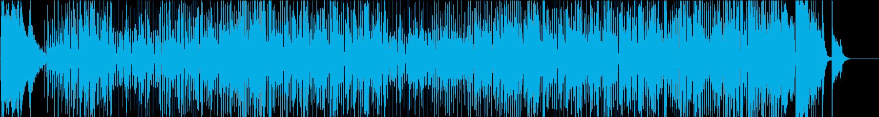 ギャグ向きのコミカルなジプシー・スイングの再生済みの波形