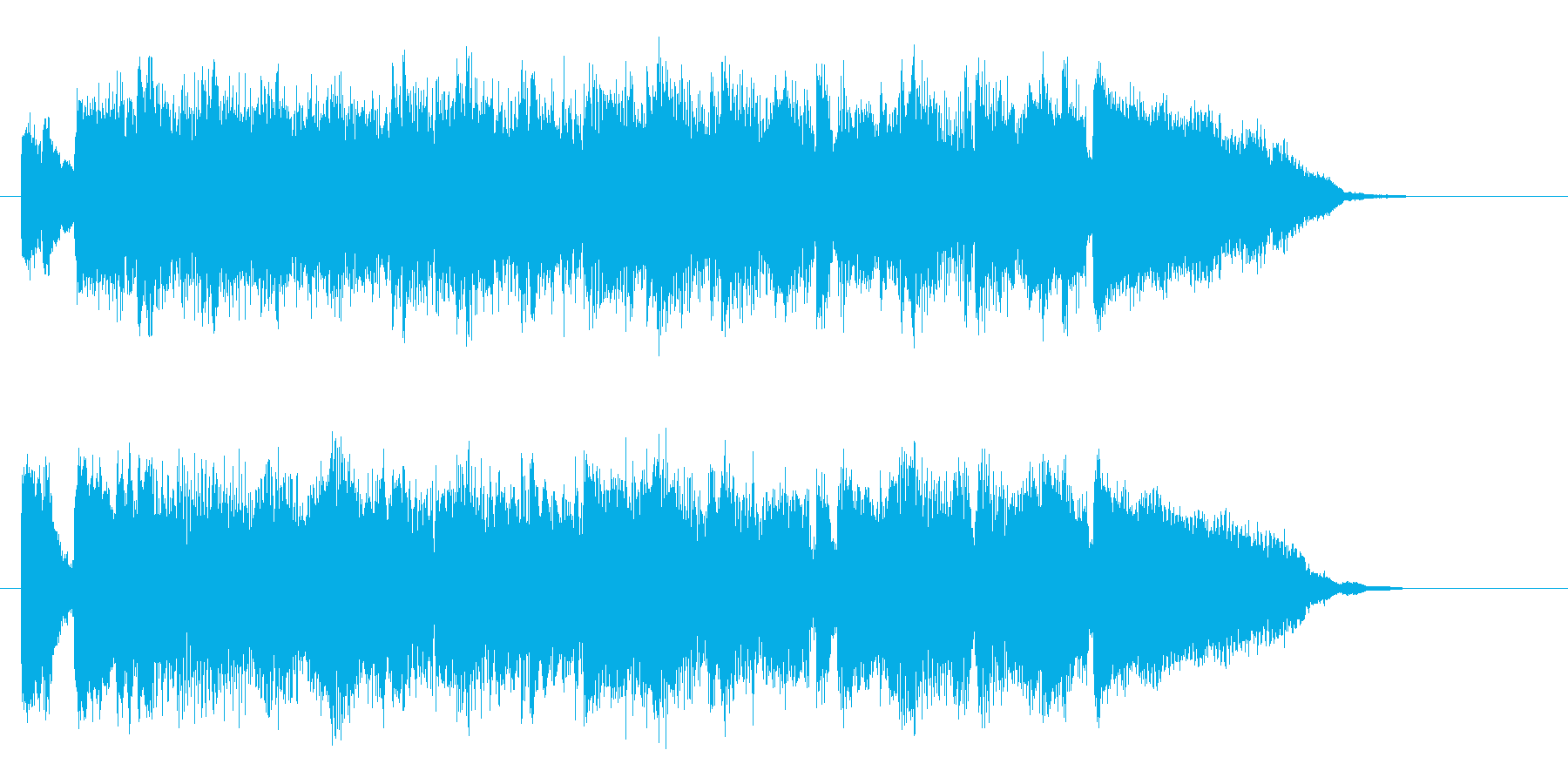 神秘的なピアノバラードの再生済みの波形