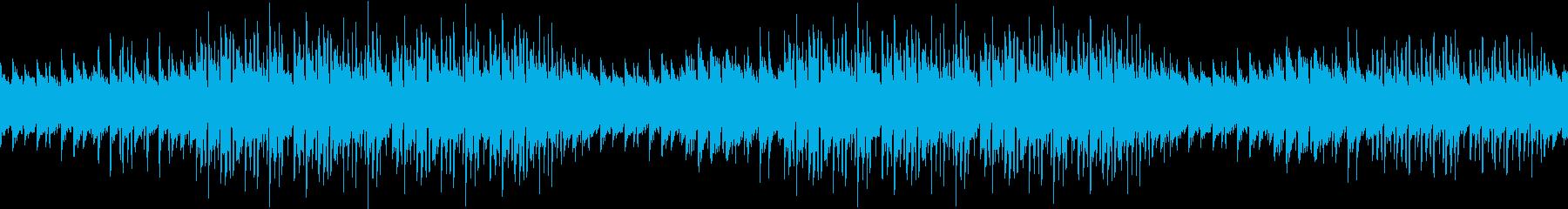 考え事・不安・葛藤・ピアノ・心配・ループの再生済みの波形