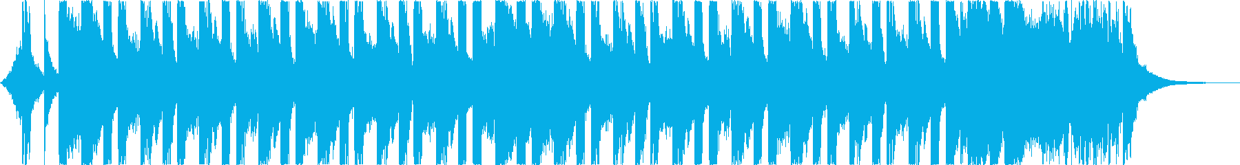 おしゃれ洋楽トラップヒップホップレゲエcの再生済みの波形