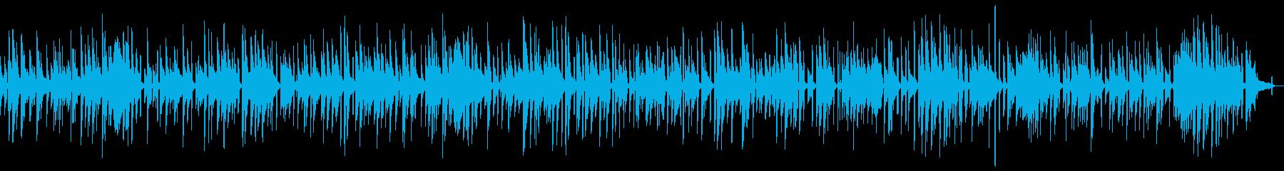 おしゃれに安らぎを与えるピアノ・ソロの再生済みの波形