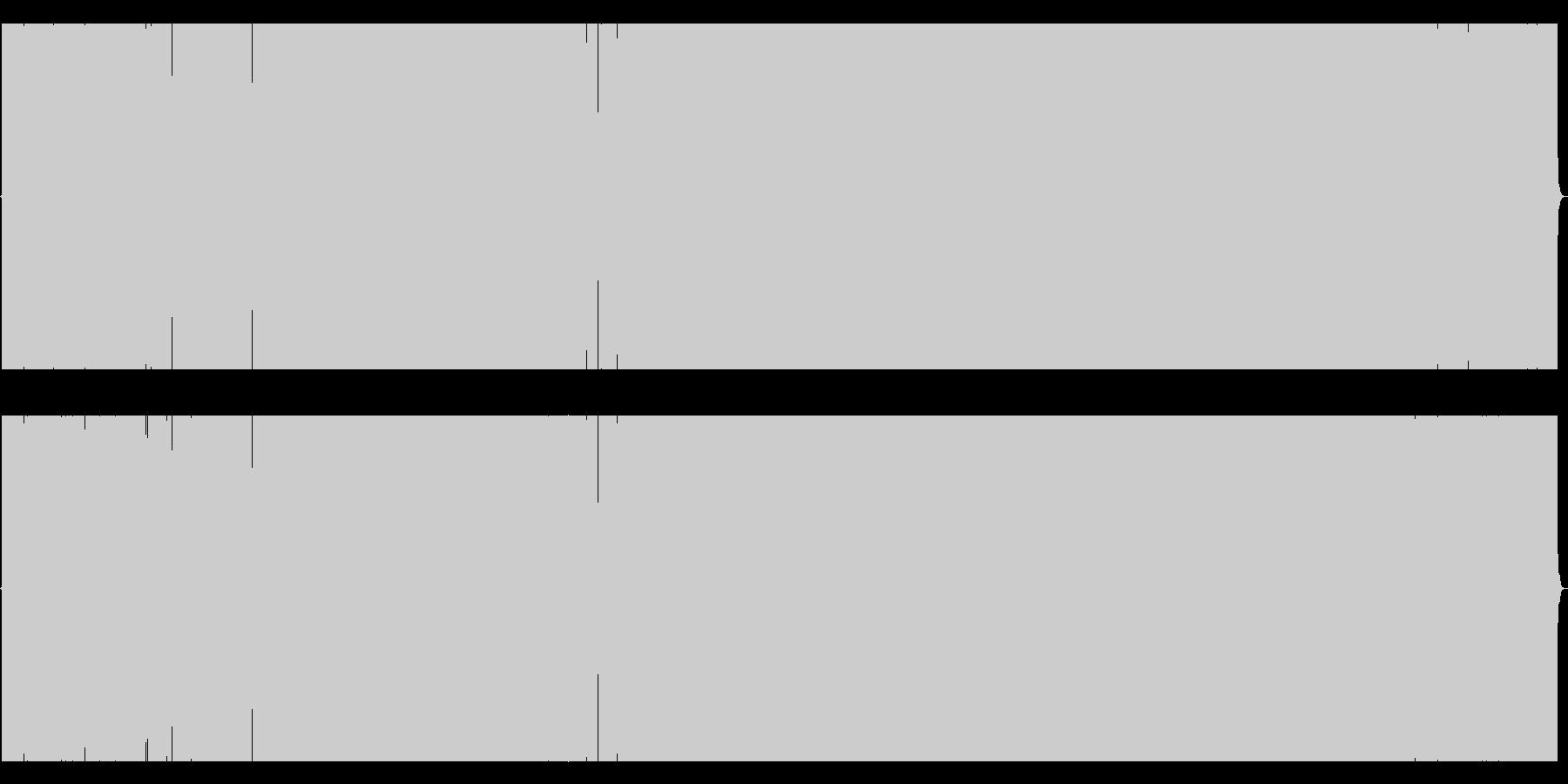 ヘヴィなリフ、キャッチーなメロディの未再生の波形