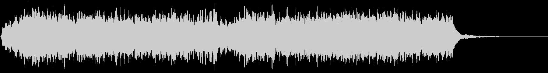 ゲームオーバーの効果音(コーラス)の未再生の波形