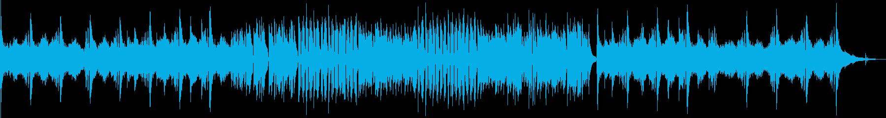秋風のような流れるクラシックギター Bの再生済みの波形