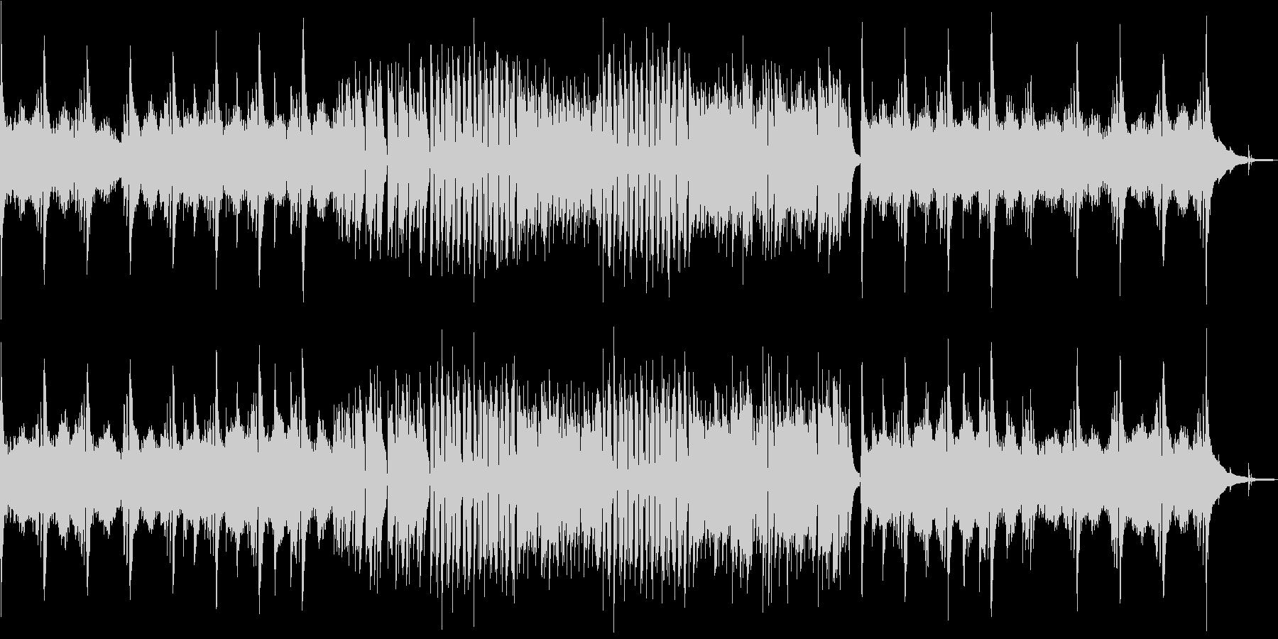 秋風のような流れるクラシックギター Bの未再生の波形