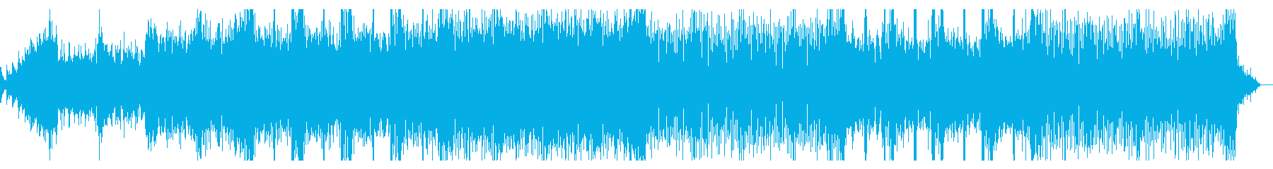 グリッジでサスペンシブなIDMの再生済みの波形
