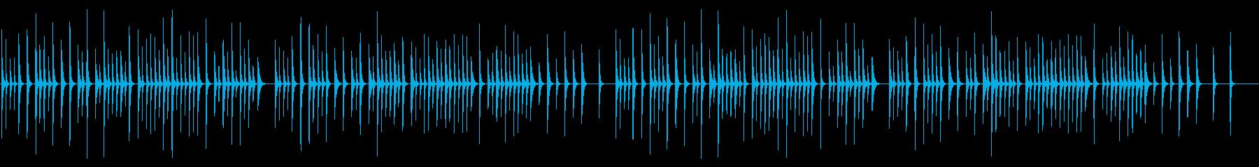 雪 シロフォンソロの再生済みの波形
