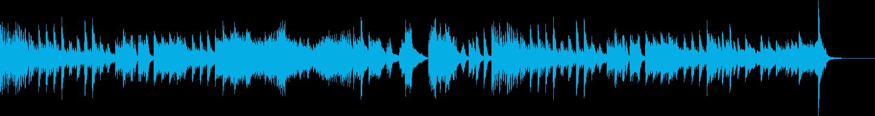 ツェルニー風ミステリアスなピアノソロの再生済みの波形