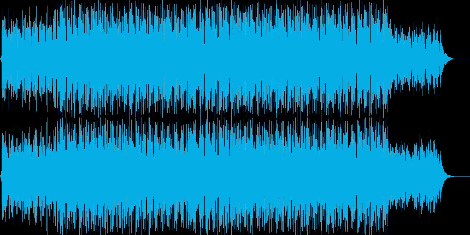 爽やかでオーガニックなアコギハウスの再生済みの波形