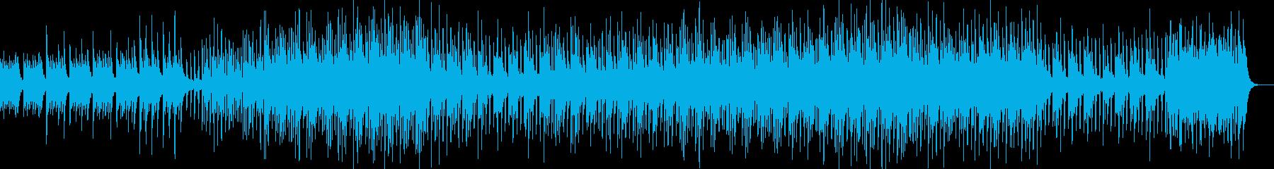 軽快で優しいミニマルなピアノ曲の再生済みの波形
