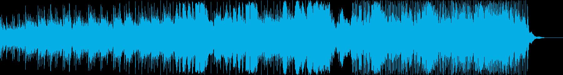 ピースフルで始まりの予感がするカントリーの再生済みの波形