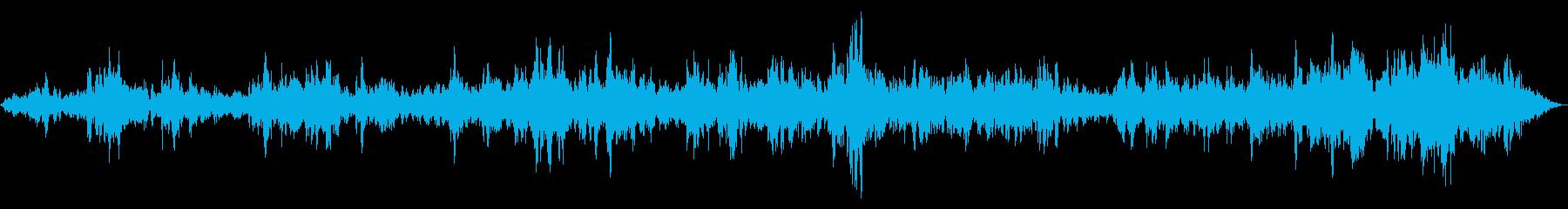 HUM OF VOICES、レスト...の再生済みの波形