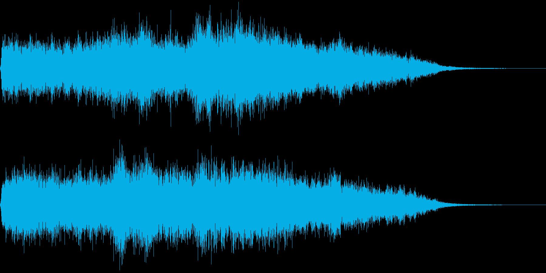 管弦楽による戦闘敗北直後用ジングルの再生済みの波形