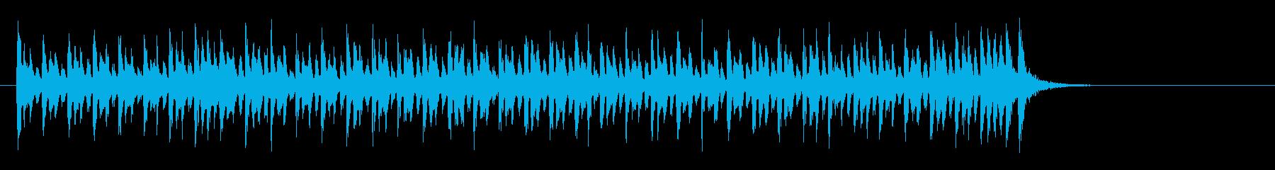 かわいいクラシカルポップ(イントロ~A)の再生済みの波形