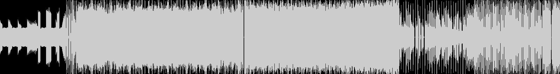 ボス戦8bitファミコンBGMループ仕様の未再生の波形