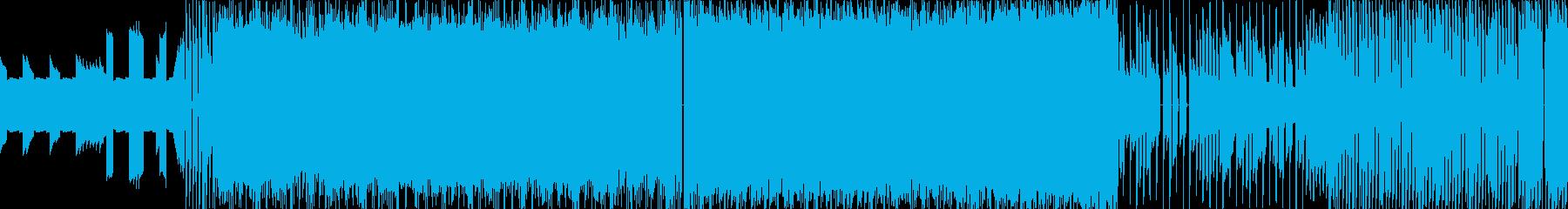 ボス戦8bitファミコンBGMループ仕様の再生済みの波形