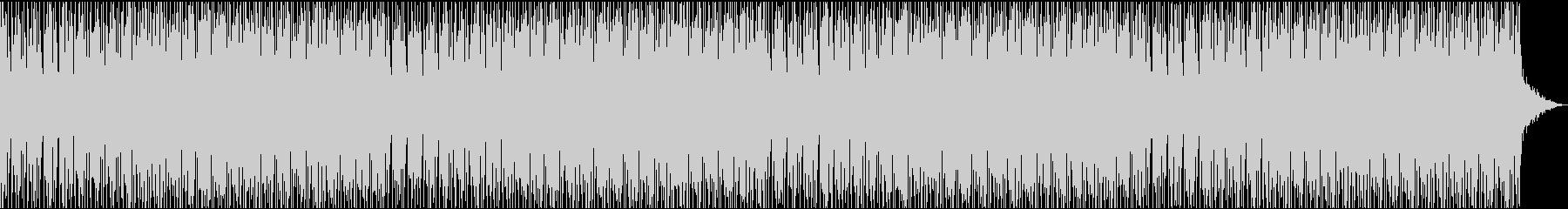 不思議で奇妙なエレクトロハウス何かが起きの未再生の波形