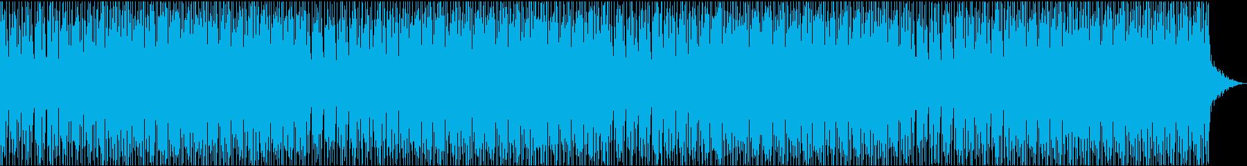 不思議で奇妙なエレクトロハウス何かが起きの再生済みの波形