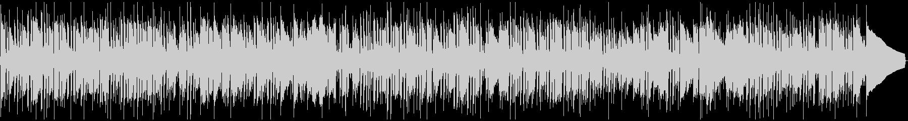 しゃれたジャズロックBGMの未再生の波形