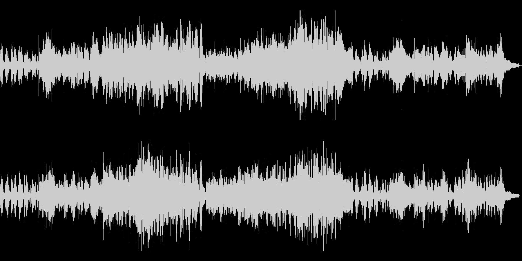 メロディアスな和風曲8-ピアノソロ の未再生の波形