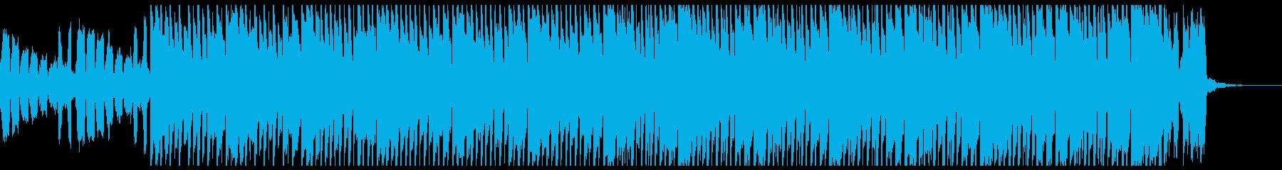 ファッションディープハウス(ショート)の再生済みの波形