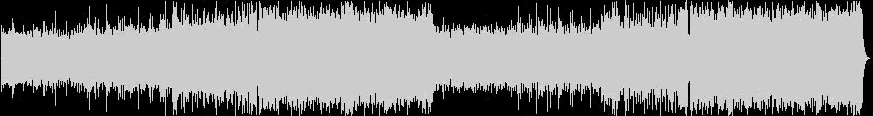 クールなFuture Bassの未再生の波形