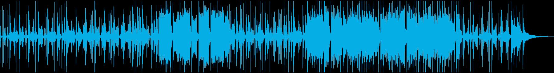ほのぼの木琴・キッズ・ショートの再生済みの波形