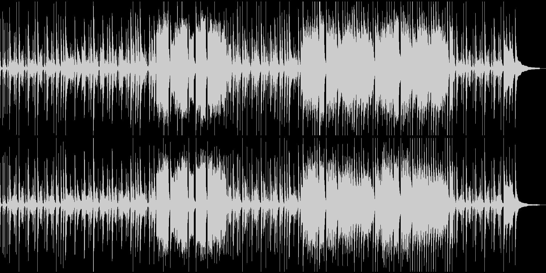 ほのぼの木琴・キッズ・ショートの未再生の波形