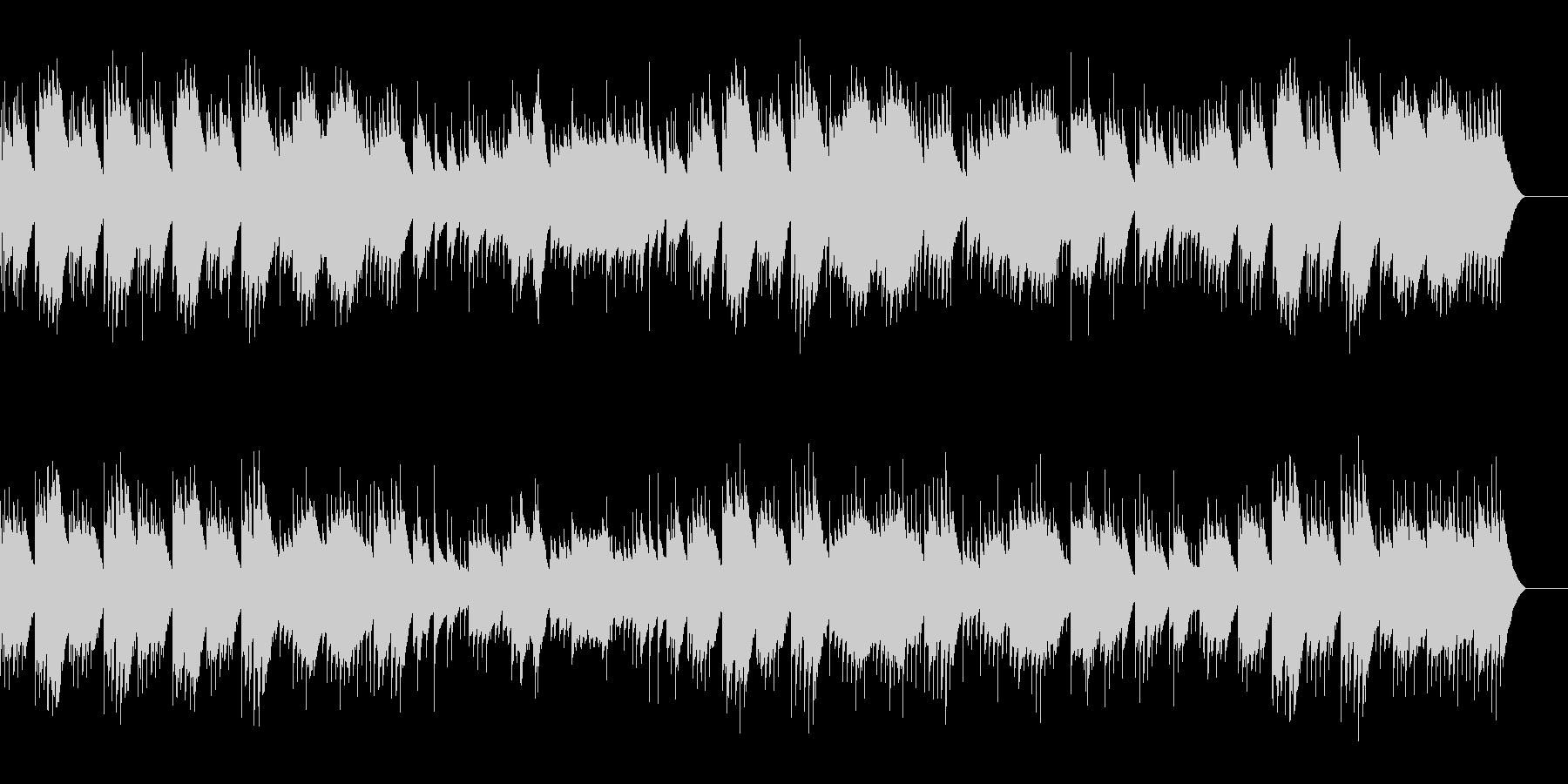 6つのウィーン・ソナチネ (オルゴール)の未再生の波形