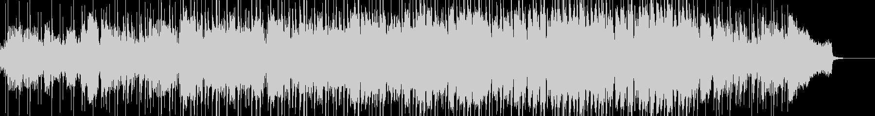 ボサノバ調の爽やかなBGMの未再生の波形