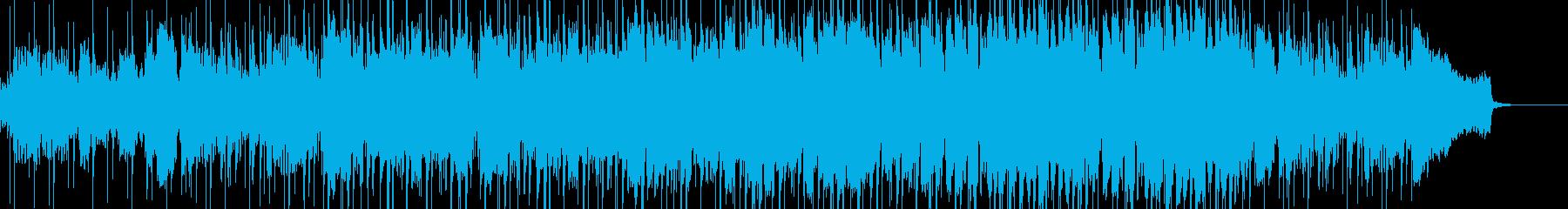 ボサノバ調の爽やかなBGMの再生済みの波形