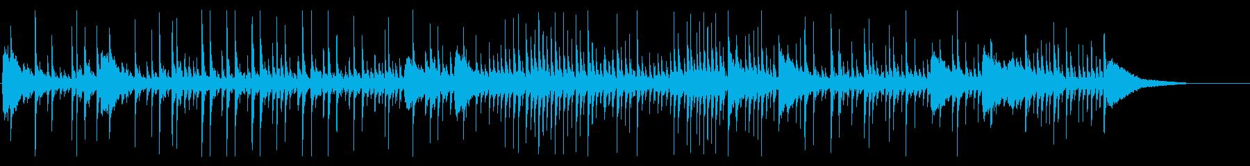 ドラムソロ、音楽、パーカッションド...の再生済みの波形