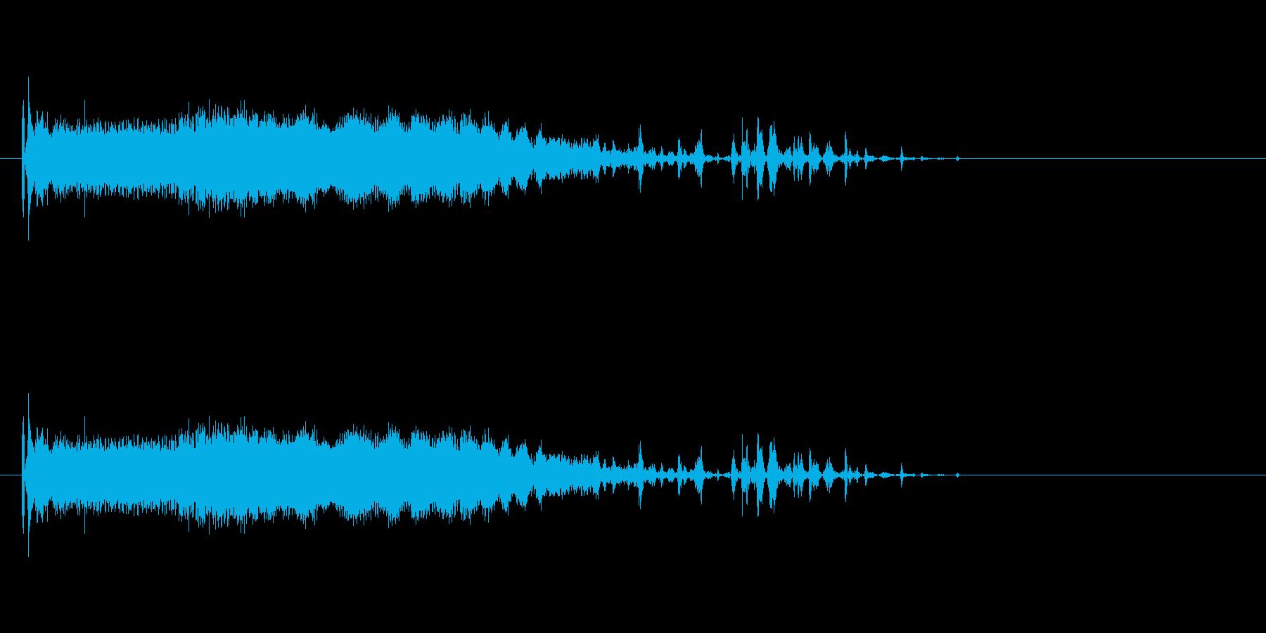 ピキャーァァンの再生済みの波形
