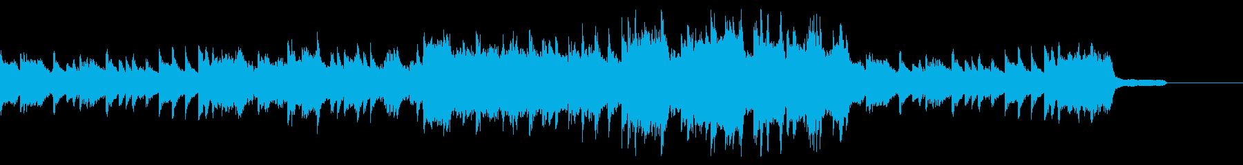 温かくて切ない感じのピアノ曲の再生済みの波形