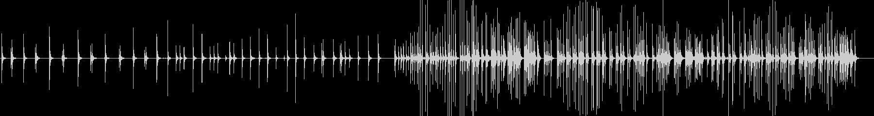 三味線138越後獅子2新潟県月潟角兵衛獅の未再生の波形