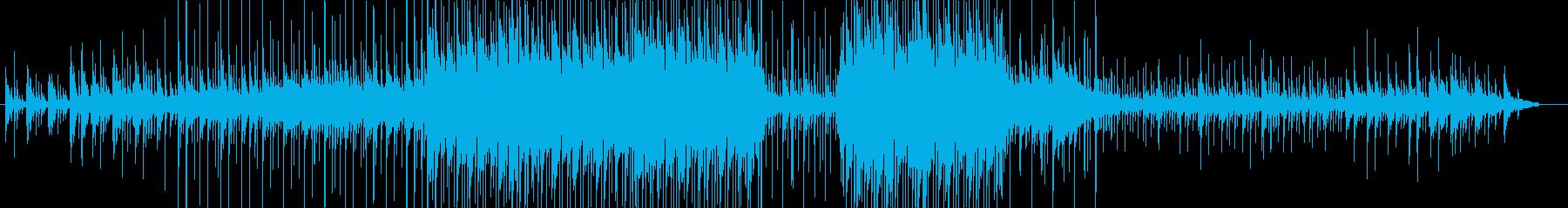 企業向けプレゼン・スライドショー感動映像の再生済みの波形