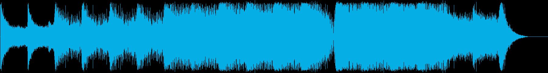サイバー、SF/テクスチャーの再生済みの波形