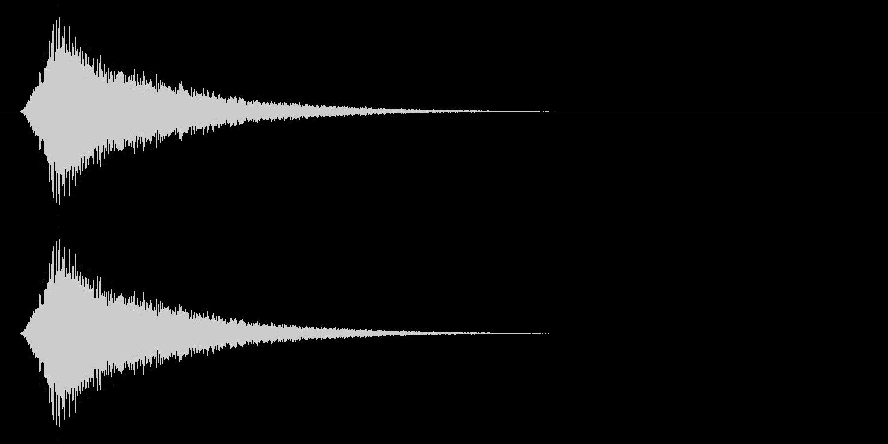 カットイン/シュー/場面転換の未再生の波形
