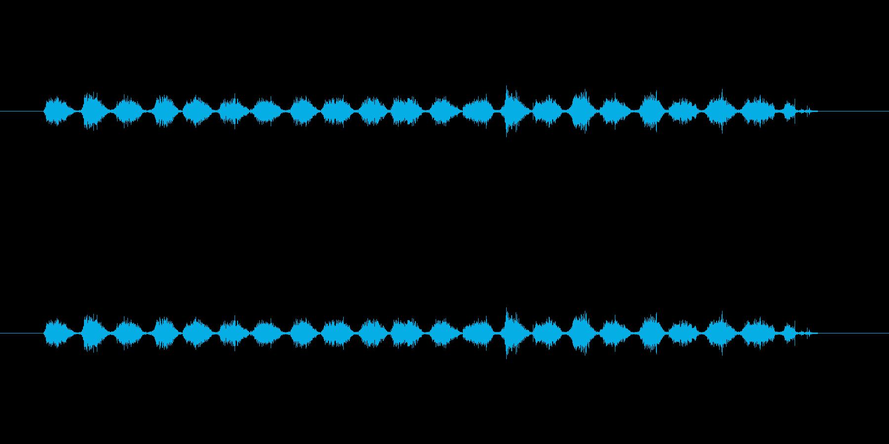 【シャープペン01-11(塗りつぶす)】の再生済みの波形