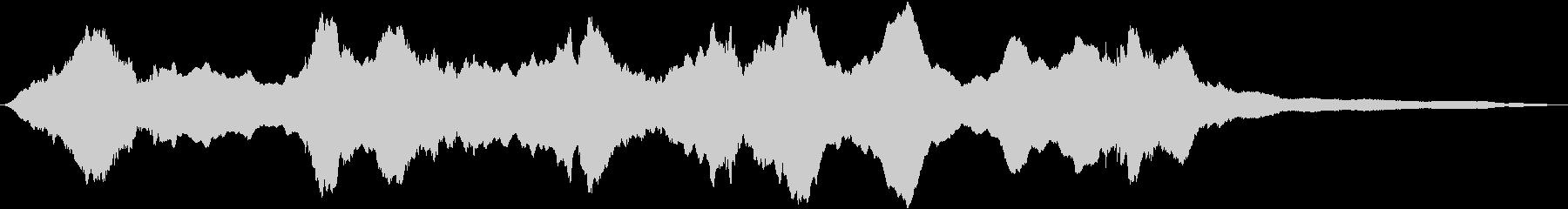 空襲サイレン:ロングブラスト、サイ...の未再生の波形